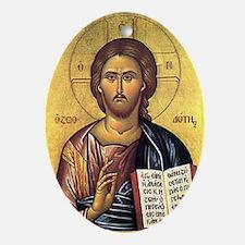 Isus Hristos Oval Ornament