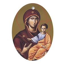 Sv. Bogorodica Oval Ornament