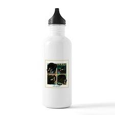 A CAT NEVER TELLS Water Bottle