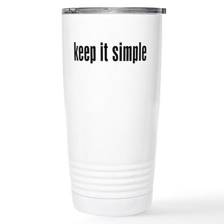 KEEP IT SIMPLE - Travel Mug