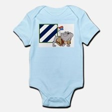 Rocky and the 3ID Infant Bodysuit
