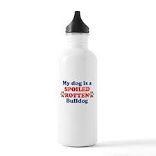 Spoiled Rotten Bulldog Water Bottle