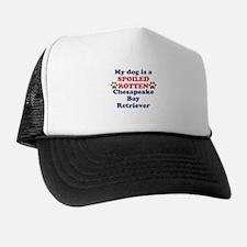 Spoiled Rotten Chesapeake Bay Retriever Trucker Hat