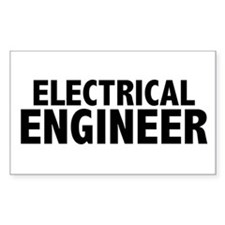 Electrical Engineer Rectangle Decal