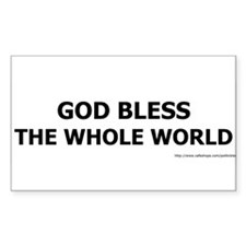 blesstheworld-L Decal