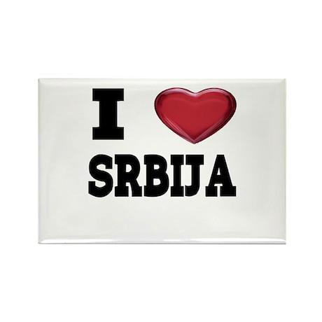 I Love Srbija Magnet