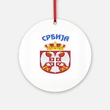 Srbija Ornament (Round)
