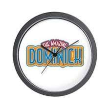 The Amazing Dominick Wall Clock