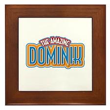 The Amazing Dominik Framed Tile