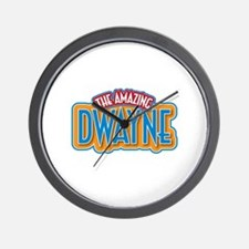 The Amazing Dwayne Wall Clock