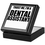 Trust Me, Im A Dental Assistant Keepsake Box