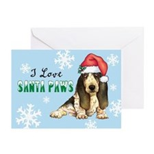 Holiday Basset Greeting Cards (Pk of 10)