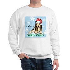 Holiday Basset Sweatshirt