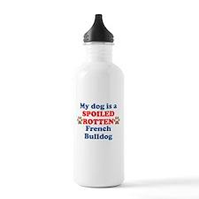 Spoiled Rotten French Bulldog Water Bottle