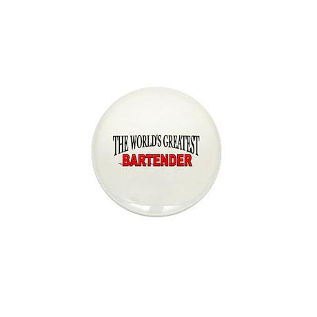 """The World's Greatest Bartender"" Mini Button"