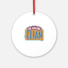 The Amazing Elian Ornament (Round)