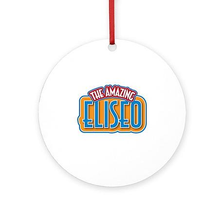 The Amazing Eliseo Ornament (Round)