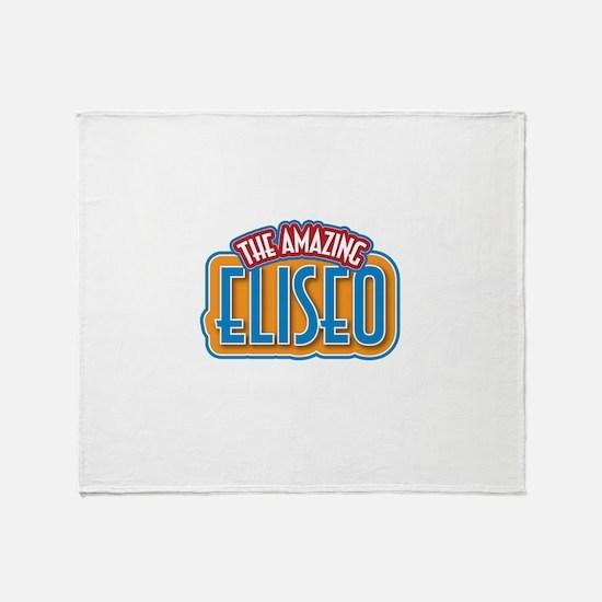 The Amazing Eliseo Throw Blanket
