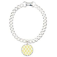 Bright Yellow Polkadot Bracelet