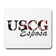 USCG Esposa (Bandera) Mousepad
