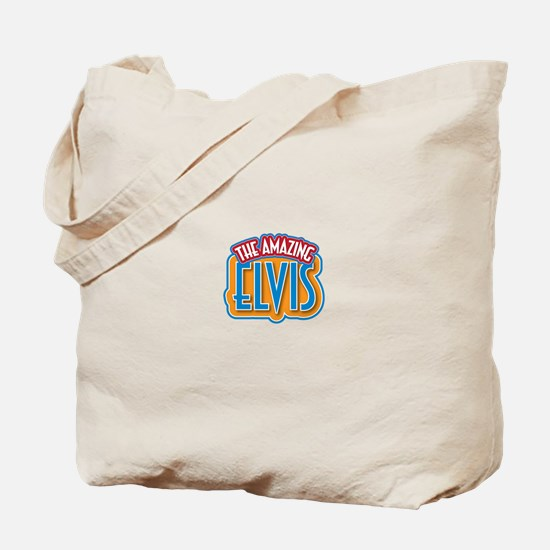 The Amazing Elvis Tote Bag