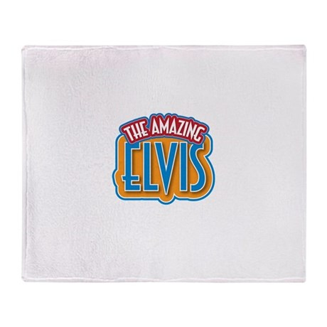 The Amazing Elvis Throw Blanket