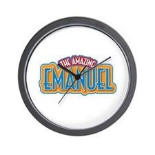 The Amazing Emanuel Wall Clock