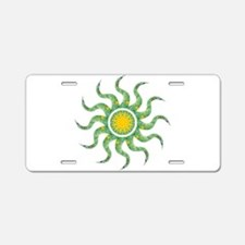 Wild Sun Miracle Aluminum License Plate