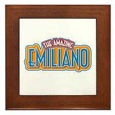 The Amazing Emiliano Framed Tile