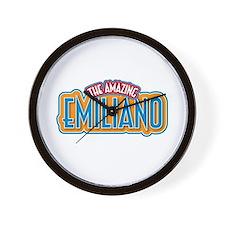 The Amazing Emiliano Wall Clock