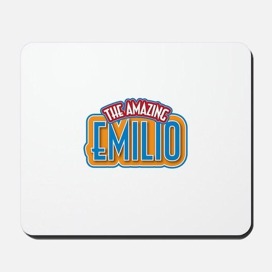 The Amazing Emilio Mousepad