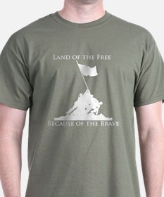 Land of the Free - Iwo Jima T-Shirt