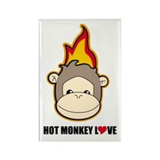 hot monkey love Magnets