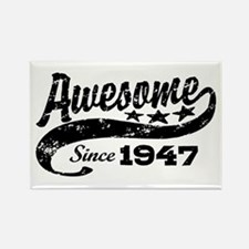 Awesome Since 1947 Rectangle Magnet
