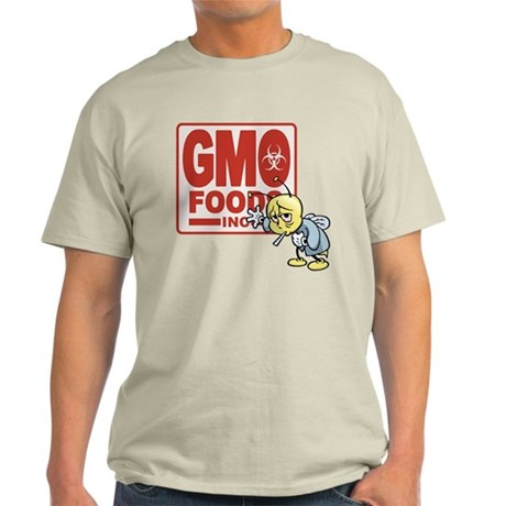 GMO Foods -Bee Light T-Shirt