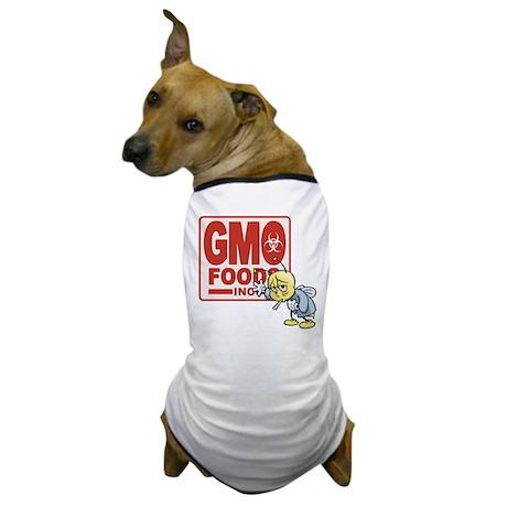 GMO Foods -Bee Dog T-Shirt