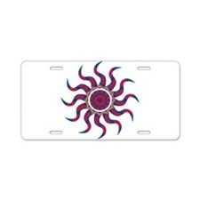 Wild Sun Voila Aluminum License Plate