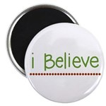 I believe (handwritten) Magnet