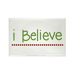 I believe (handwritten) Rectangle Magnet