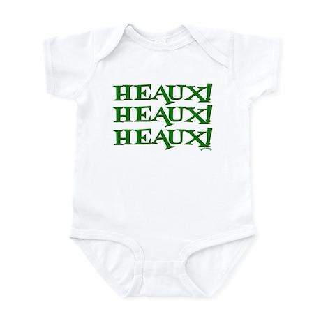 Cajun Heaux! Heaux! Heaux! Infant Bodysuit
