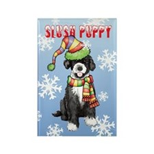 Holiday PWD Rectangle Magnet