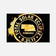 Eclipse Nebraska Rectangle Magnet