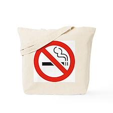 No Smoking Smokers Tote Bag