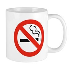 No Smoking Smokers Mug