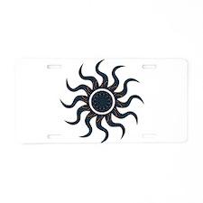 Wild Sun Catharsis Aluminum License Plate