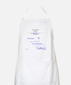 Prescription for Sanity BBQ Apron