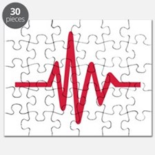 Frequency pulse heartbeat Puzzle