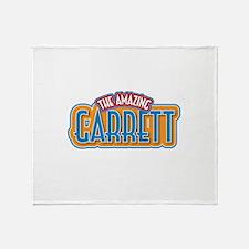The Amazing Garrett Throw Blanket