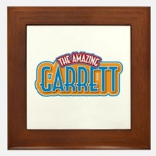 The Amazing Garrett Framed Tile