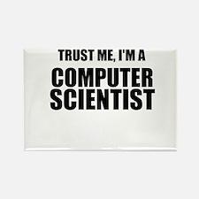 Trust Me, Im A Computer Scientist Rectangle Magnet